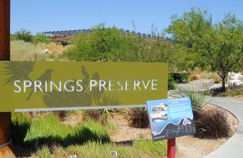 6/5/11: Springs Preserve. (Photo by Glenn Pinkerton)