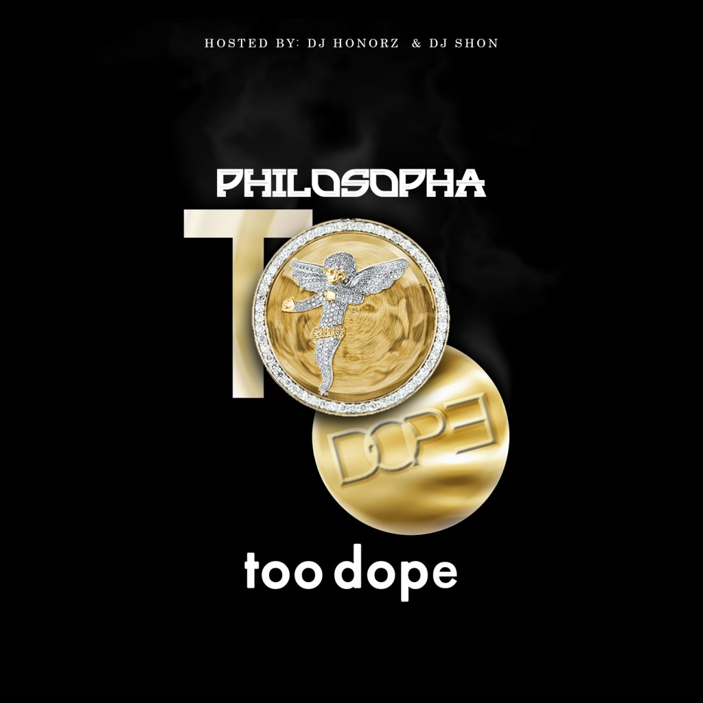 too dope mixtape cover copy