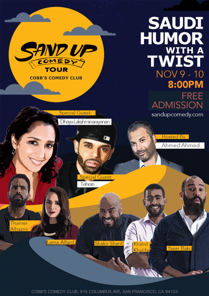 'Sand Up Comedy' debuts in San Francisco with two shows at ...